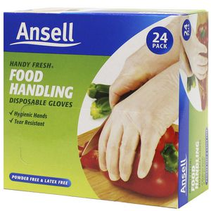 Ansell Handy Fresh Disposable Gloves 24 Pack