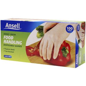 Ansell Handy Fresh Disposable Gloves 100 Pack