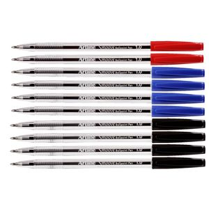 Artline Smoove Ballpoint Pens Assorted Colours 10 Pack