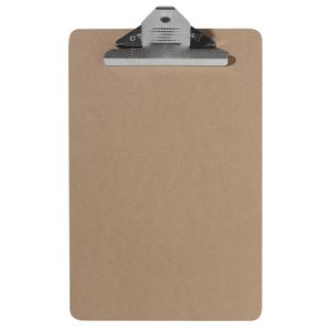 Ausinc Clipboard A4 Masonite with Large Clip