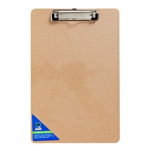 Clipboard A4 Masonite with Small Wire Clip