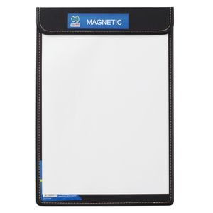 AusInc A4 Magnetic Clipboard Black