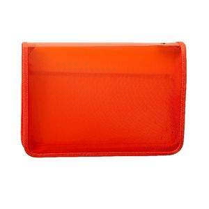 AusInc A4 Document Box with Zip Orange