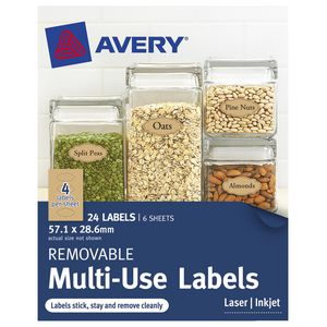 Avery Cottage Collection Oval Labels 24 Pack