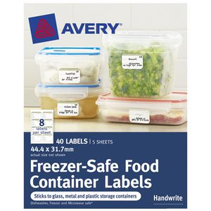Avery Cottage Collection Rectangle Labels 40 Pack