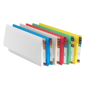 Avery Foolscap Lateral Shelf Wallet Buff 20 Pack
