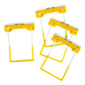 Avery Tubeclip File Fastener Yellow 500 Pack
