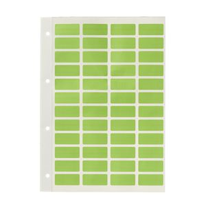 Avery Block Label Green 240 Pack