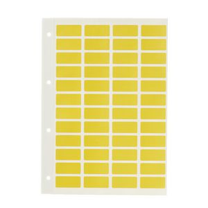 Avery Block Label Yellow 240 Pack