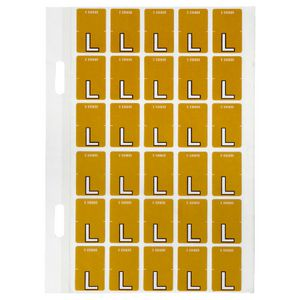 Avery Lateral File Top Tab Label 'L' 150 Pack