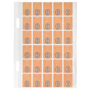 Avery Lateral File Top Tab Label 'O' 150 Pack