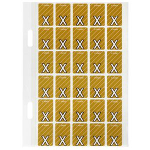 Avery Lateral File Top Tab Label 'X' 150 Pack