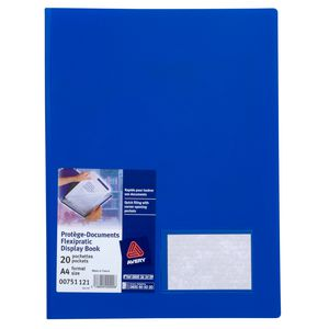 Avery Flexipractic Display Book Blue