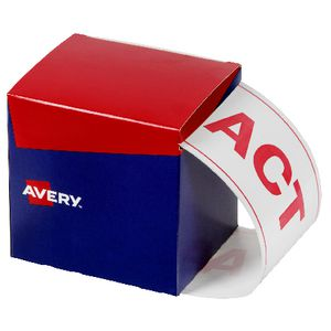 Avery State Packaging and Pallet Labels ACT 100 x 152.4mm