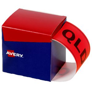 Avery State Packaging and Pallet Labels QLD 100 x 152.4mm