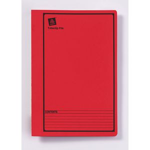 Avery Tubeclip File Foolscap Red