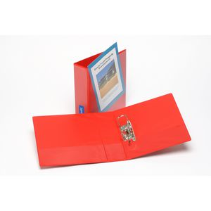 Bantex A4 Insert Lever Arch File 70mm Red