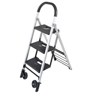 Duras 3 Step Ladder & Trolley