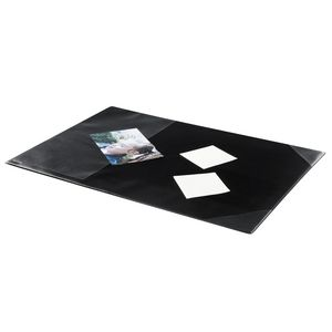 Bantex Desk Pad with Sleeve Black