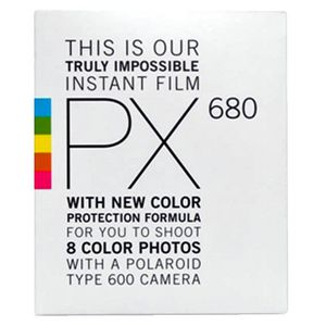 Polaroid Film PX680 for Polaroid 600 Camera