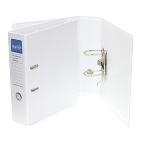 Bantex Extra Capacity 2 Ring Lever Arch Folder White 10 Pack