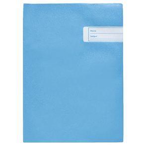 Book Cover Scrapbook Blue
