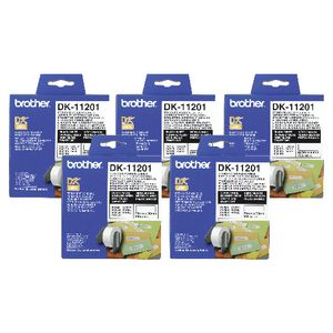 Brother DK-11201 Labels 5 Pack
