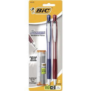 BIC Atlantis 0.7 mm Mechanical Pencil 2 Pack