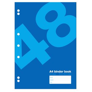 Value A4 Binder Book 48 Page