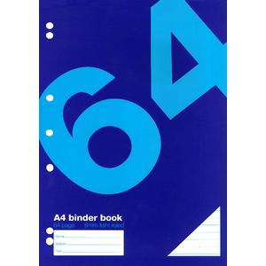 Value A4 Binder Book 64 Page