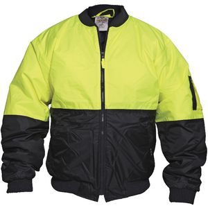 Ace Day Hi-Vis Flying Jacket Yellow/Navy Sz. 122
