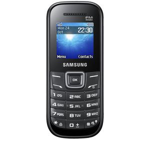 Samsung E1205 Outright Mobile Black