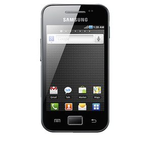 Samsung Galaxy Ace Black Outright Mobile Phone