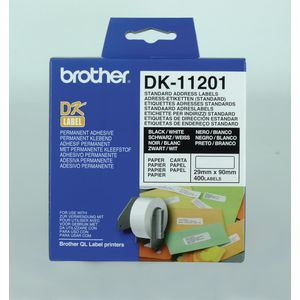 Brother Standard White Address Labels Pk/400