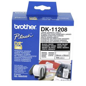 Brother Large Address Labels Pk/400
