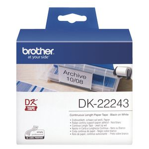 Brother DK-22243 Continuous Paper Roll - 102mm