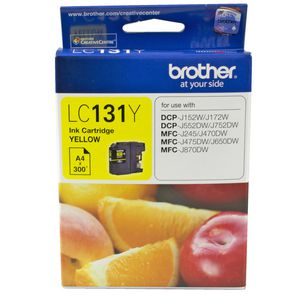 Brother LC-131 Ink Yellow