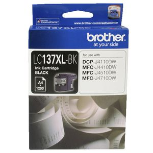 Brother LC-137 XL Ink Cartridge Black