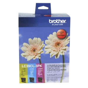 Brother LC-39 Tri-Colour Ink 3 Pack