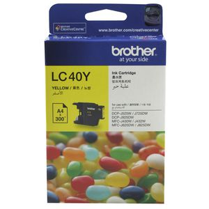 Brother LC-40 Ink Cartridge Yellow
