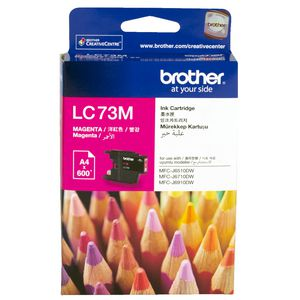 Brother LC-73 High Yield Ink Cartridge Magenta