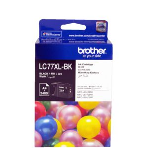 Brother LC-77XL Super High Yield Ink Cartridge Black