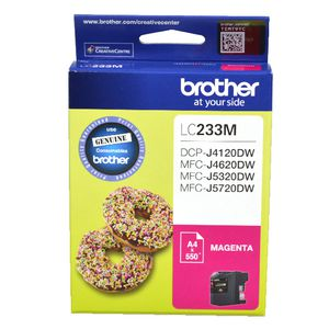 Brother LC-233 Ink Cartridge Magenta