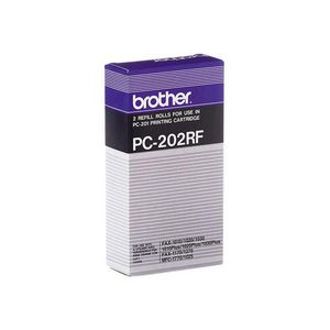 Brother PC-202 Fax Refill Roll Twin-Pack