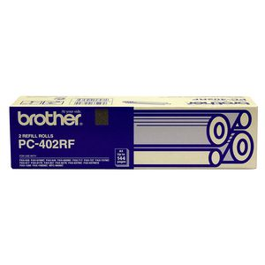 Brother PC-402RF Fax Refill Roll 2 Pack