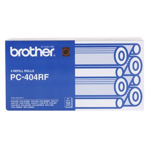 Brother PC-404RF Fax Refill Roll 4 Pack