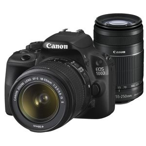 Canon 100d Twin Lens Dslr Camera