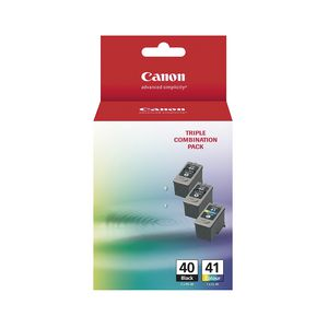 Canon PG-40 and CL-41 3 Ink Value Pack