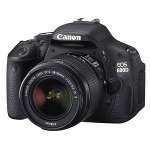 Canon EOS 600D Single Lens Kit Digital SLR Camera