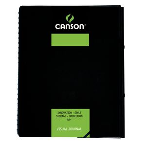Canson A4 Visual Journal 60 Page Green